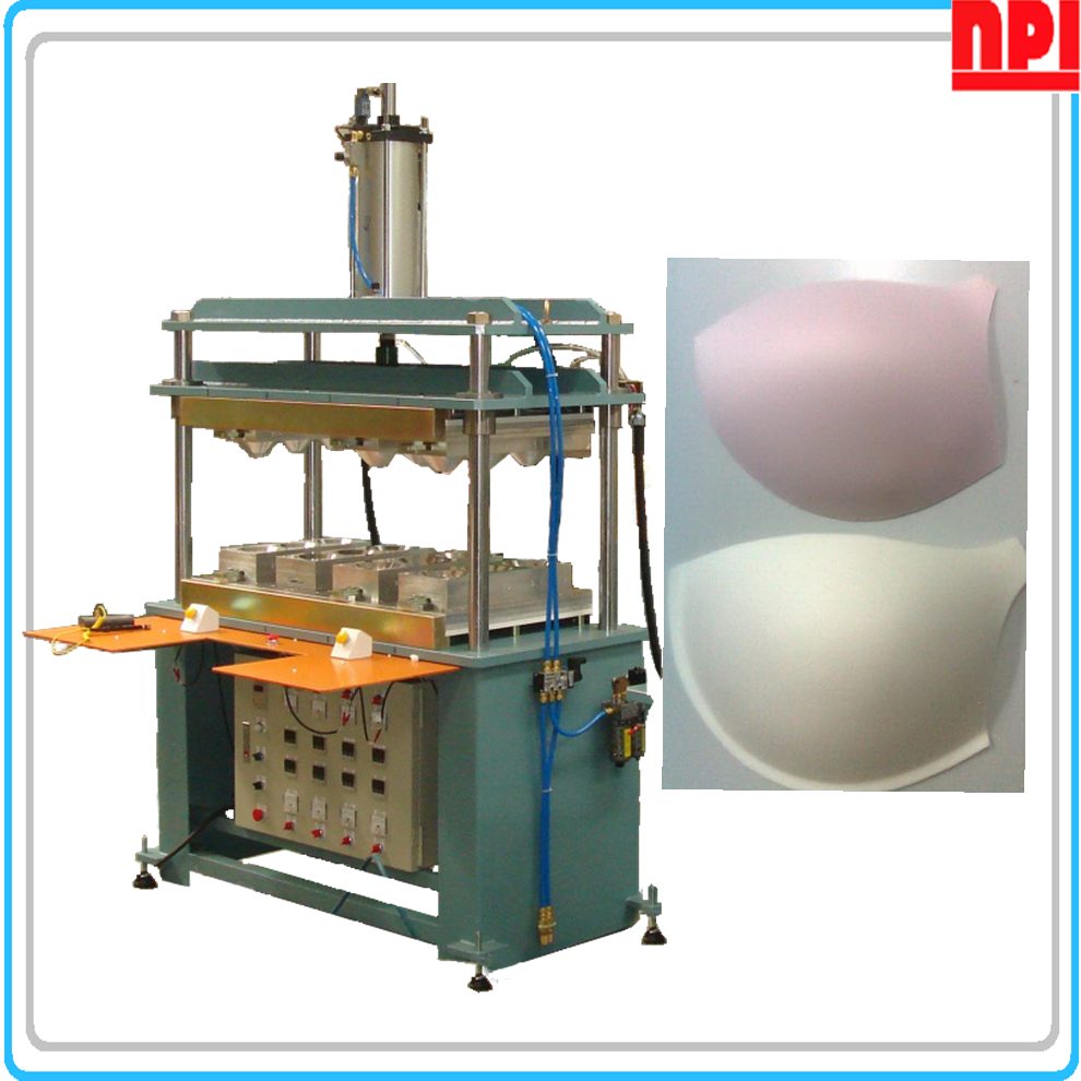 Foam Bra Cup Molding Machine