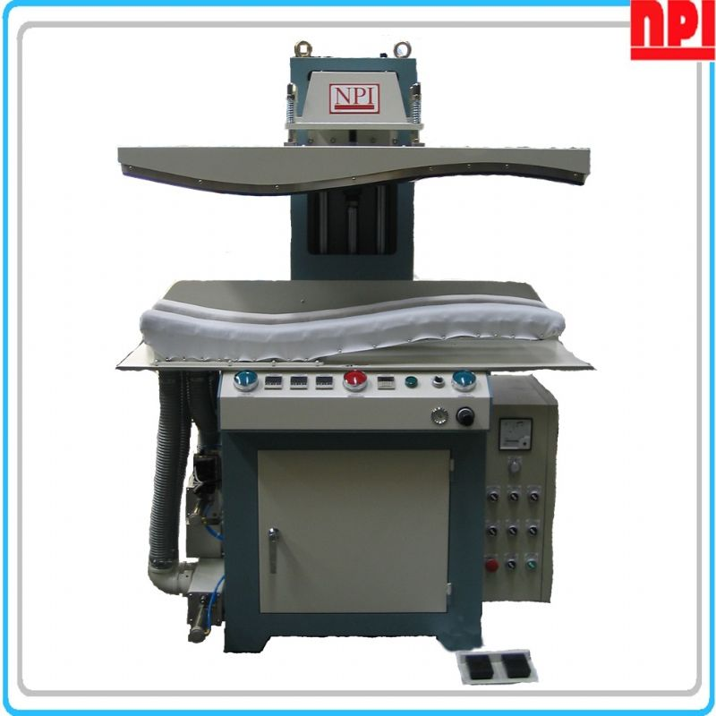 Curve shape press machine
