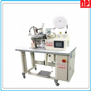 DM-HA-11-POST-A4 POST TYPE COLD-HEAT BELT BONDING MACHINE